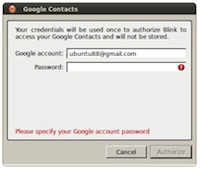 Help - Blink Qt - AG Projects